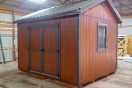 Wooden Utility Barn